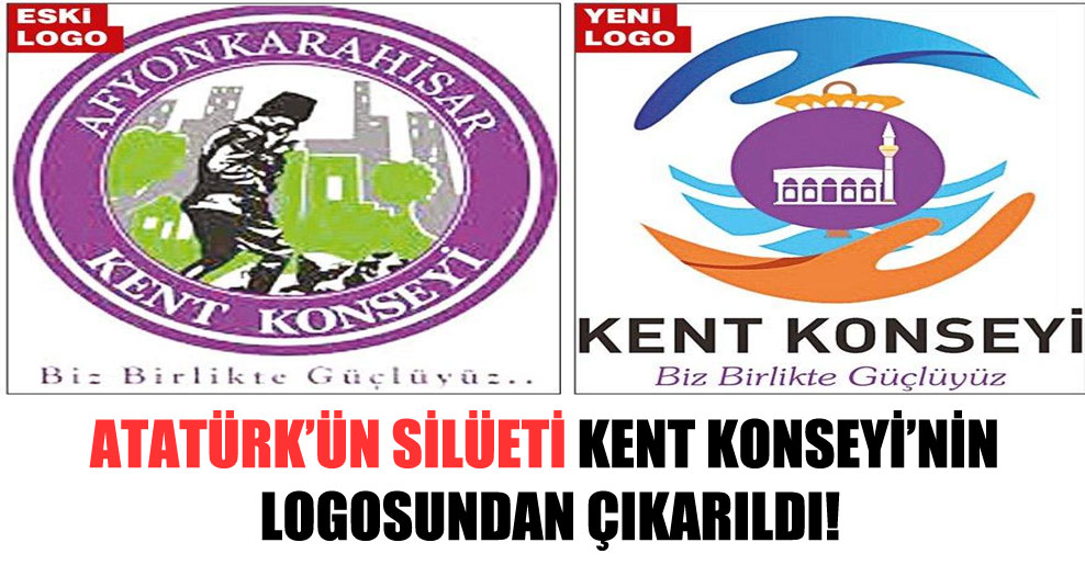 Atatürk'ün silüeti Kent Konseyi'nin logosundan çıkarıldı!