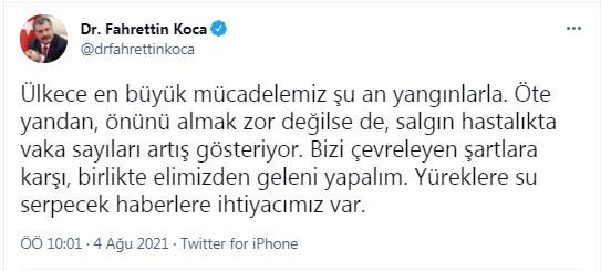 "BAKAN KOCA, ""VAKA SAYILARI ARTIS GOSTERIYOR"" DEDI. FOTO-ANKARA-DHA"