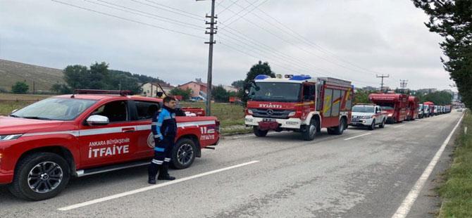 Ankara Büyükşehir'den sel bölgeleri için yardım seferberliği!