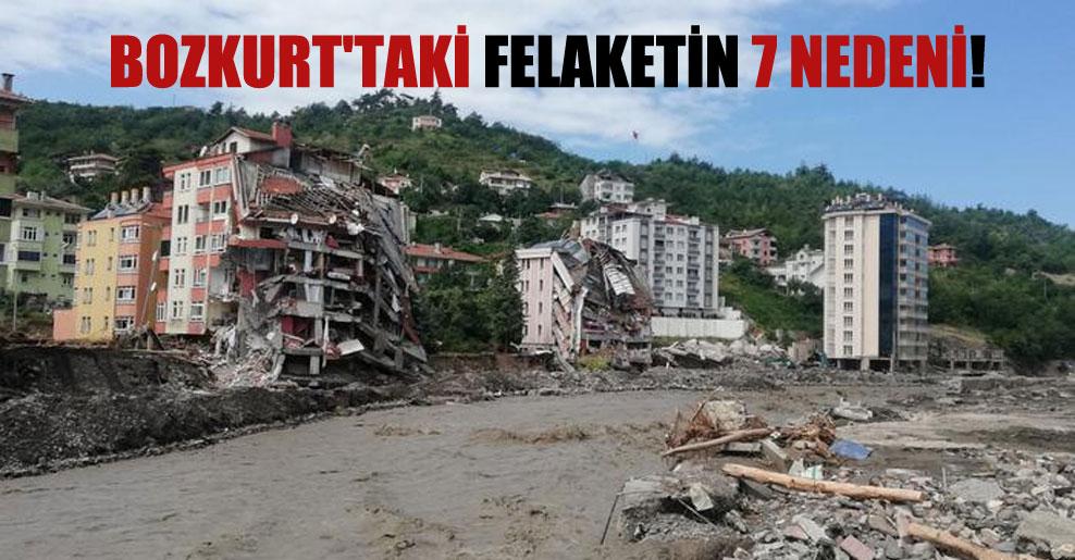 Bozkurt'taki felaketin 7 nedeni!