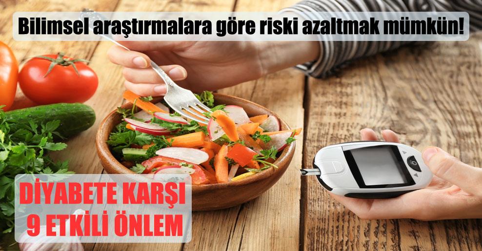 Bilimsel araştırmalara göre riski azaltmak mümkün!