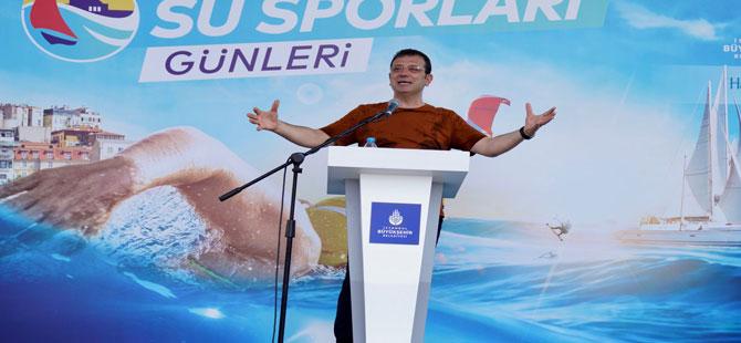 İmamoğlu: 2036 olimpiyatlarını İstanbul'a getirmekte iddialıyız!