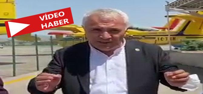 CHP'li Yeşil: Uçakları bize verin gereğini yapalım!