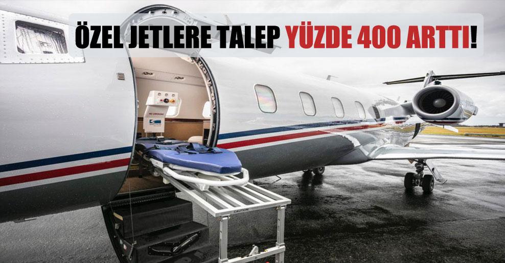 Özel jetlere talep yüzde 400 arttı!