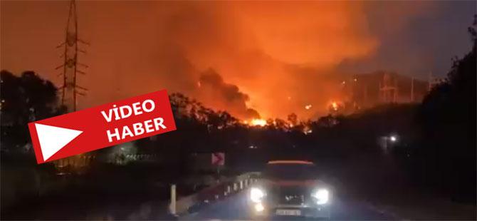 Milas Belediye Başkanı: Alevler termik santrale girdi