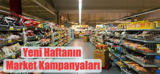Yeni Haftanın Market Kampanyaları