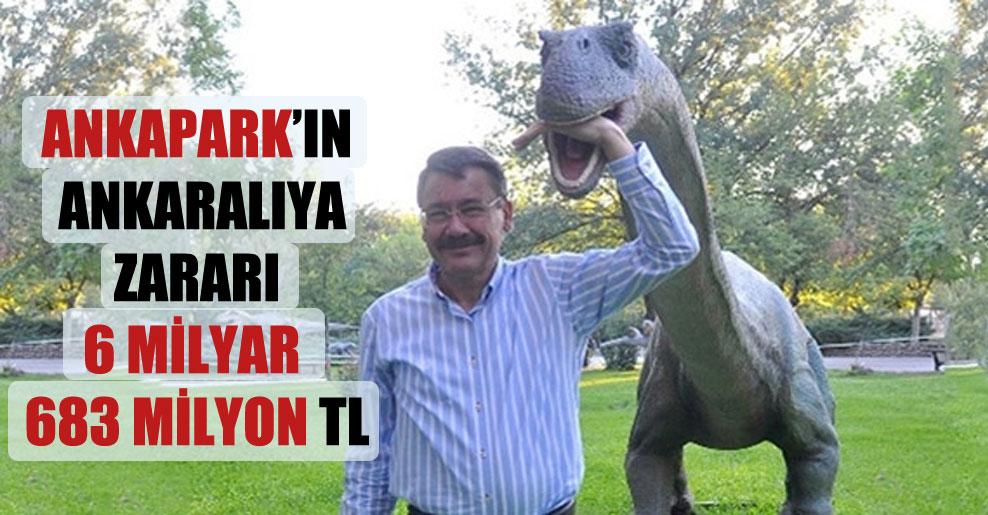 Ankapark'ın Ankaralıya zararı 6 milyar 683 milyon TL!