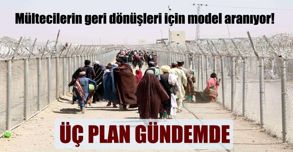 Mültecilerin geri dönüşleri için model aranıyor!