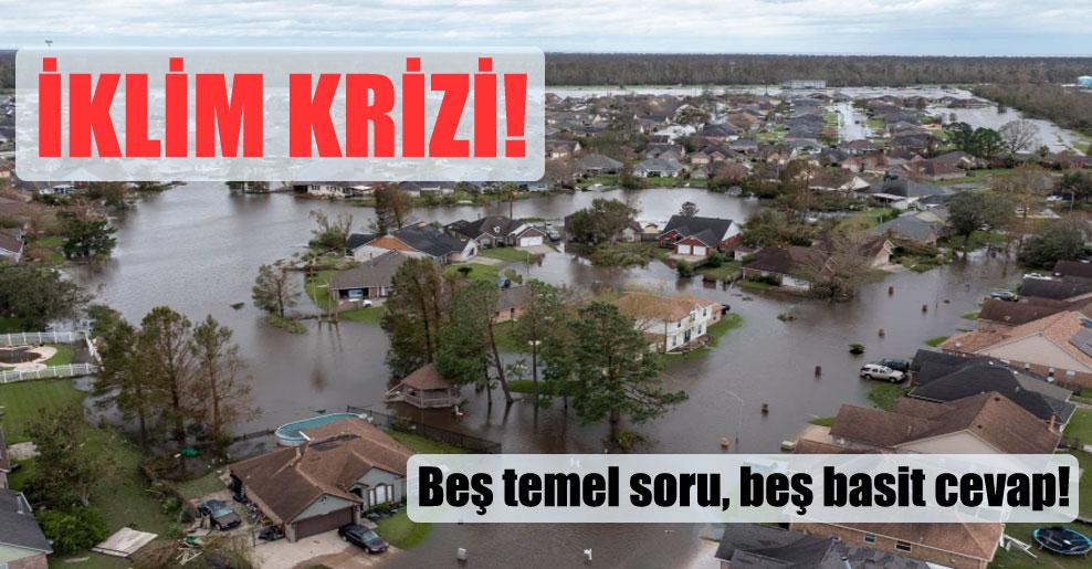 İklim krizi!