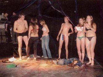 Seminer oldu seks partisi
