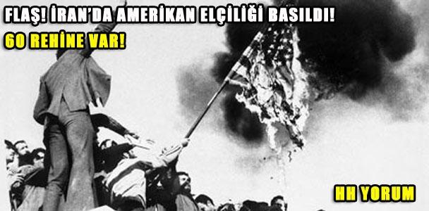 İran'da Amerikan Elçiliği Basıldı