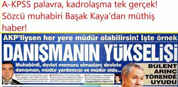 AKP'liysen Her Yere Müdür Olursun